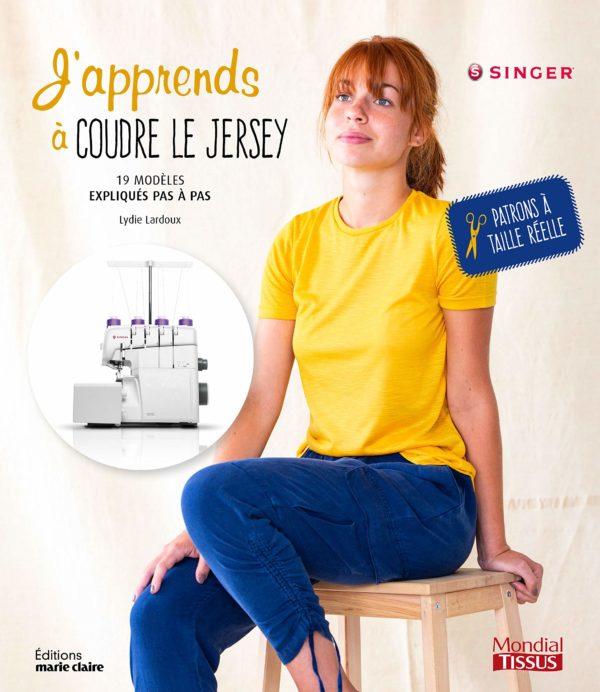 livre de couture - J'apprends à coudre le jersey